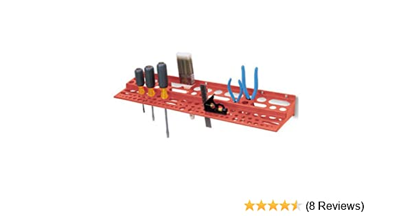 Fixings Included BURNTEC Tool Holder Garage 3 Pan Head Screws 10 x 1/½ Thick Steel Washers /& 7mm Wall Plugs