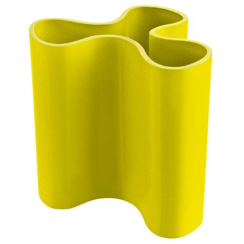 Clara Vase (Koziol Clara M, Vase, Blumenvase, Kunststoffvase, Dekoration, 400ml, Solid Senfgrün, 2823582)