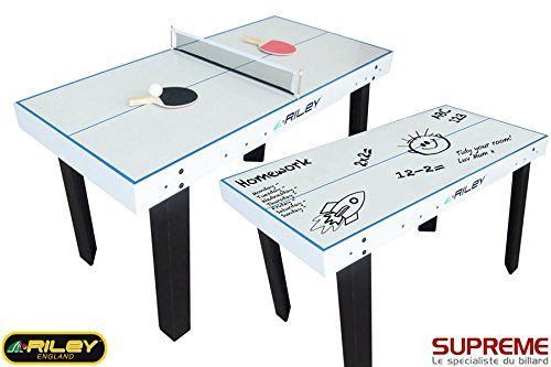 Riley - Tennis de table, tableau fixe + 9 jeux gratuits