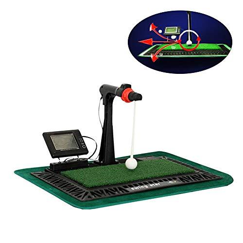 ZHRLQ Golf Swing Trainer, Pads Digital Swing Trainer, adaptés à l'entraînement Vitesse, Distance...