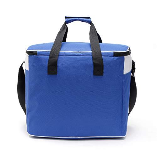 KonJin Kleine Kühltasche Lunch Tasche Isoliertasche zur Arbeit und Schule gehen 34 Liter, 42x32x25cm Damen Herren Isolierung Cartoon Lunch Bag