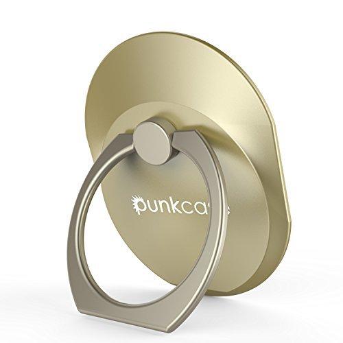 punkcase S Ring Universal Handy Halter Auto montieren Ständer für Smartphones Phablets und Tabletten sicher bequem betreiben Ihr Iphone oder Android-Gerät mit einer Hand Gold (1 Unze Schwarze Rose)