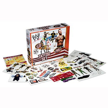 WWE-Wrestler Temporäre Tätowierung Aufkleber Set [UK Import]