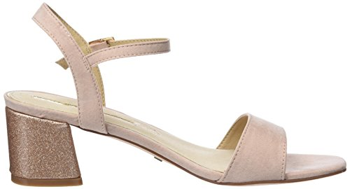 Maria Mare Vera, Sandales Bout Ouvert Femme Beige (Afelpado Maquillaje)
