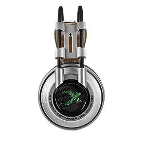KARTELEI Gaming Headset Surround Stereo Sound Ergonomie Wired Alloy Kopfhörer für PC, Xbox One, PS4, Nnintedo Switch