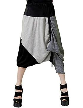 ELLAZHU holgados pantalones de Capri pantalones cortos GY02