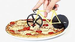 Okayji Unique Bicycle Shape Pizza Cutter (Random Colour As Per Availability)