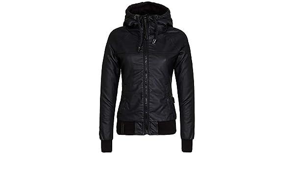 Jacket Women Naketano Black Karate Mit Renate Jacket: Amazon