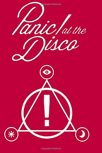 Panic! at the disco: rose matte notebook, 100 lined pages, 6x9''