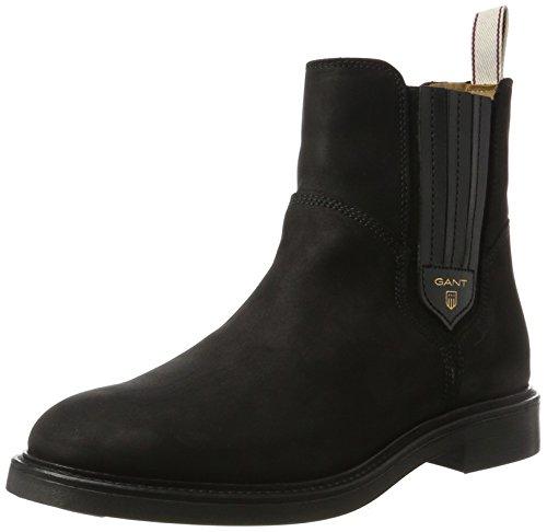 GANT Footwear Damen Ashley Chelsea Boots, Schwarz (Black), 40 EU