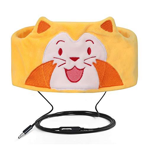 Verdrahtete Kinderkopfhörer Ultra dünne Lautsprecher-einfache justierbare weiche Vlies-Stirnband-Kopfhörer für Kinder Seelöwe