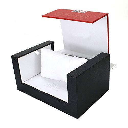 FIONAT Uhrenbox Schmuckkästchen High-End-Uhrenbox Flip Kunststoff Schmuckschatulle Schmuck Display Aufbewahrungsbox, Rot Schwarz
