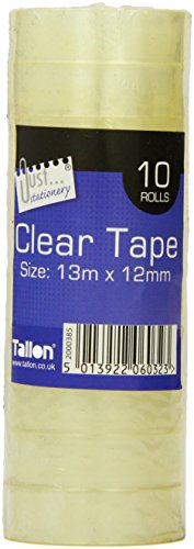 just-stationery-mini-clear-tape-roll-of-10