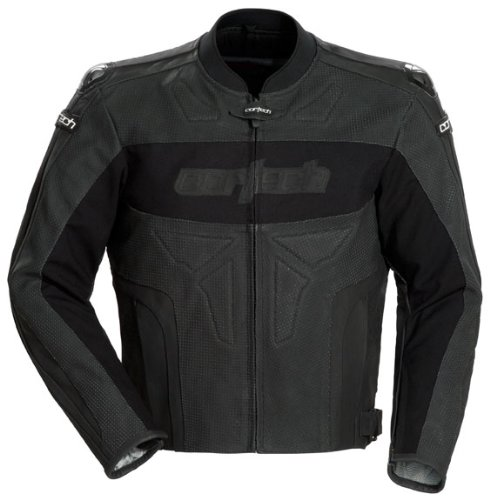 Cortech Latigo Leather Jacket–Small/Flat Nero