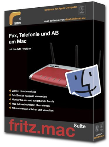 fritz.mac Suite: Fax, Telefonie und AB am Mac. Software zur Nutzung der Fritz!Box auf dem Mac