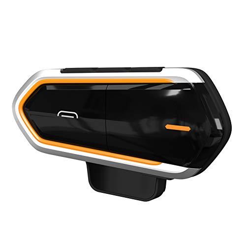 Stereo-intercom-panel (Valigrate Motorrad Wireless Bluetooth Headset Intercom FM Interphone mit Mikrofon)