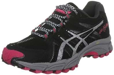 ASICS Women's Gel Fuji Attack Black/Lightning/Pink Trainer T270N 9093 4.5 UK