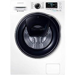 Samsung WW80K6210RW/ET Lavatrice AddWash (8 kg, 1200 rpm) [Classe di efficienza energetica A+++(-30%)]