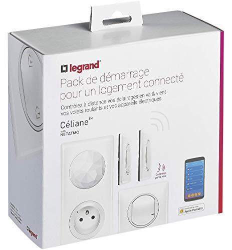 Legrand - Interrupteur connecté -- Kit de démarrage pour maison connectée avec 4 produits...
