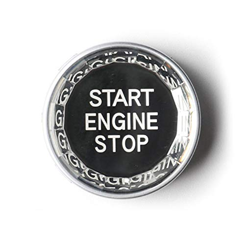 Blossomer-auto Autoinnenraum EIN Schlüssel Start Kristall Schlüssel Starten Motorschlüssel Für BMW 3/5 Series X1 / 3/5/6 Dekorative Zündknopf