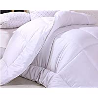 King Size Quilt King Size Duvet White 220cm By 240cm Brushed Embossed Quilt Core