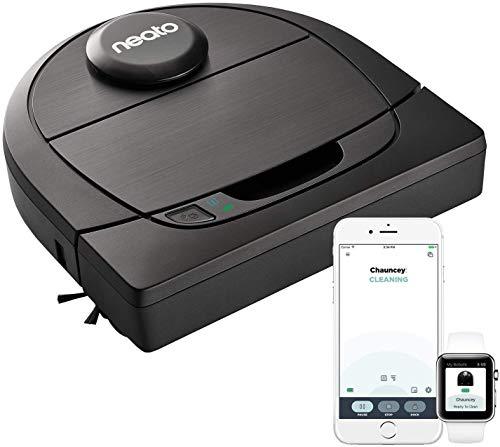Neato Robotics Botvac D6 Connected - Saugroboter Alexa kompatibel & für Tierhaare - Automatischer Staubsauger Roboter mit Ladestation, Wlan & App