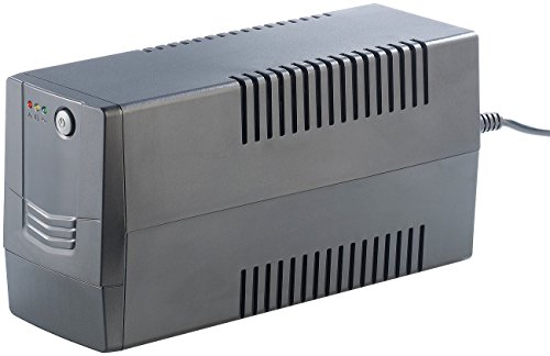 revolt Back-Ups USV: USV / Unterbrechungsfreie Stromversorgung mit AVR, 800 VA / 480 Watt (Mini-USV-Aggregate)