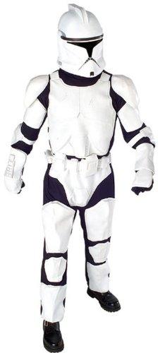 Clone Trooper Deluxe Kostüm Star Wars, Größe:XL (Star Wars Clone Trooper Kostüme)