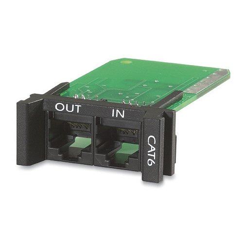 APC ProtectNet Überspannungsschutz für CAT6 or CAT5/5e Network Line (Plug-In-Modul) -