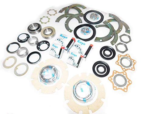 KOYO JAPAN SJ410 SJ413 FRONT AXLE KING PIN WHEEL BEARING & REAR AXLE WHEEL  BEARING SWIVEL HUB KNUCKLE OIL SEAL REBUILD REPAIR RECO KIT SAMURAI JIMNY