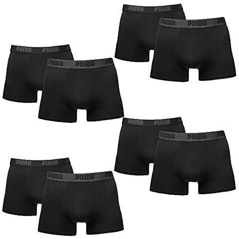 8 er Pack Puma Boxer shorts / Schwarz / Size