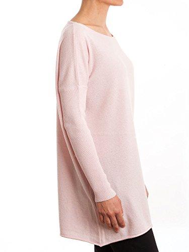 Dalle Piane Cashmere - Maxi Pullover aus Kaschmir-Gemisch - für Damen Rosa