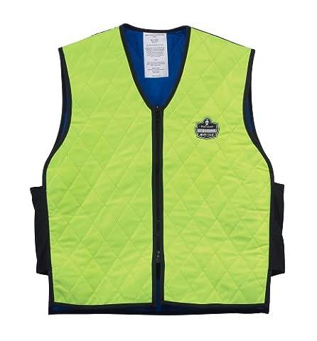 Ergodyne Chill-Its 6665 Evaporative Cooling Vest - Lime, XX-Large