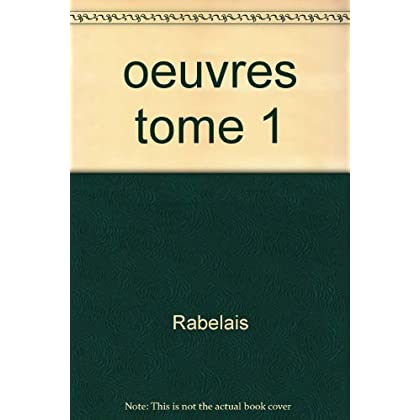 Oeuvres : Tome 1