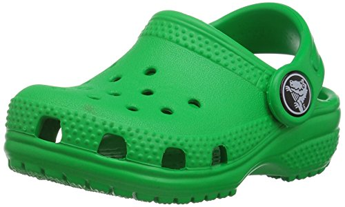 crocs Unisex-Kinder Classic Clog Kids Clogs, Grün (Grass Green), 25-26 EU (C9 UK)