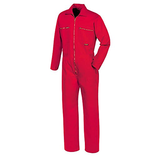 teXXor Overall Basic, Arbeitsoverall Anzug rot 44, 8043