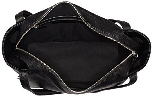 Black Large Mish4 Borsa Tote Calvin Jeans Maniglia Donna con Klein Nero q1axnvEf