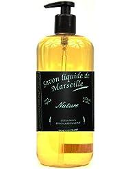 Authentique Savon de Marseille Liquide qualité Prenium 100% Made in France Flacon pompe 300 ml