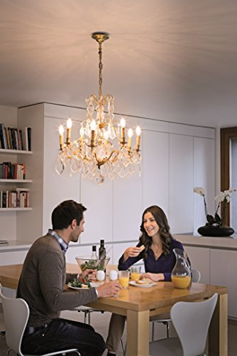 Osram Halogen-Lampe, Classic B, E14-Sockel, Dimmbar, 30 Watt - Ersatz für 40 Watt, Warmweiß - 2700K, 10er-Pack - 6