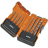 AEG 4932352236 Powerset Coffret de 8 forets marteau SDS-plus (Import Allemagne)