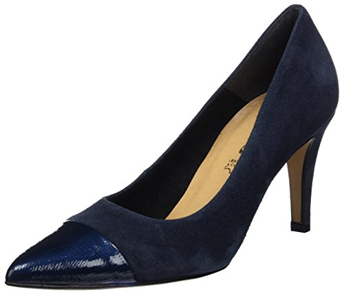 Tamaris Damen 22427 Pumps, Blau (Navy 805), 38 EU
