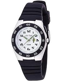 Cactus CAC-75-M01 - Reloj de pulsera niños, Plástico, color Negro