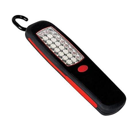 uTronix 24 LEDs Super Bright Worklight Taschenlampe mit Built-In-Haken-Aufhänger und Magnet