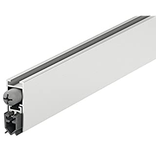 Door Bottom Seal Indoor Door Absenkdi Lighting DDS 12 Adjustable Length 730 mm | Universal Draught Excluder Seal for Sound Resistant Doors Construction Hardware Gedotec®