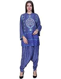AL's tunic with dhoti pants
