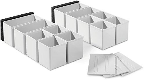 Festool Einsatzboxen Set 60x60/120x71 3xFT, 201124 Test