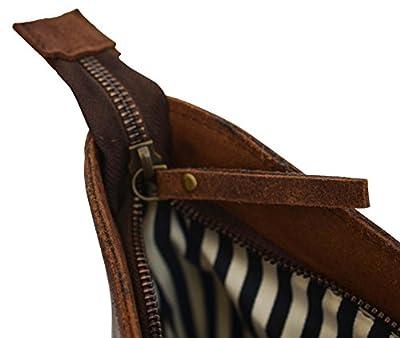 "Gusti Leder studio Bolso Bandolera de Cuero Bolso de Compras Mujer Piel de Búfalo Portátil 13"" Bolso de Mano Estilo Vintage Retro 2M43-26-23 de Gusti Leder"