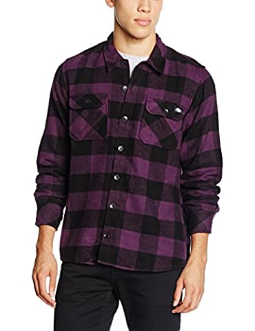 Dickies Men's Sacramento Leisure Shirt, Violett (Plum PL), X-Large