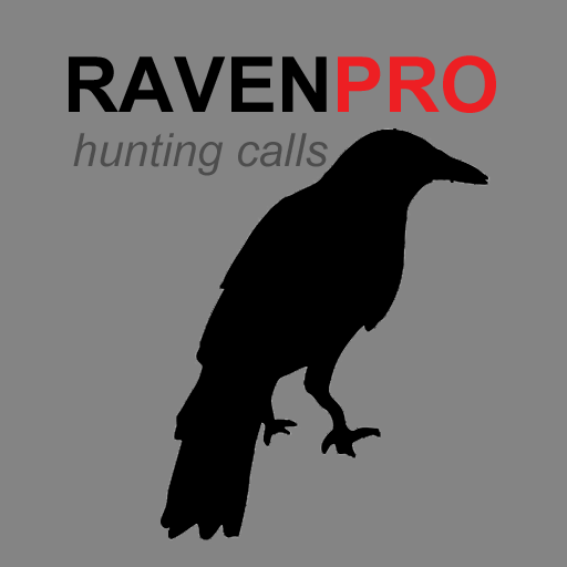 REAL Raven Hunting Calls App - 7 REAL Raven CALLS & Raven Sounds for Hunting! - (ad free) Raven e-Caller - BLUETOOTH COMPATIBLE