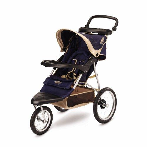 InStep Spann Safari Drehgelenk Jogging Buggy, Blue/Khaki